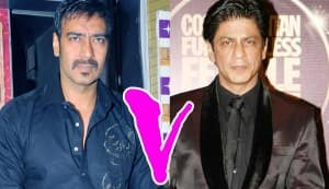 Is Ajay Devgn getting friendly with Akshay Kumar and Salman Khan to compete with Shahrukh Khan?