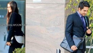 Sonam Kapoor and Ayushmann Khuranna on the sets of Yash Raj Films' next: View pics!