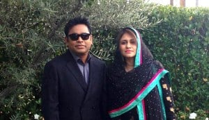 AR Rahman and wife Saira Banu attend 55th Annual Grammy Awards