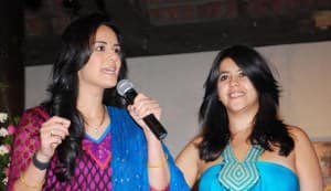Mona Singh and Ekta Kapoor bond over their new show 'Kya Hua Tera Vaada'