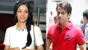 Why is Tusshar Kapoor miffed with Sridevi?
