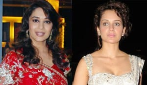 Can Kangna Ranaut match steps with Madhuri Dixit in 'Dedh Ishqiya'?