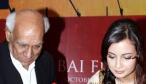 Dia Mirza and Yash Chopra inaugurate the 13th Mumbai Film Festival