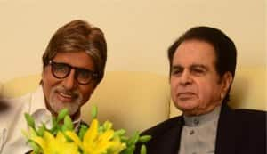 Dilip Kumar is an Amitabh Bachchan fan!