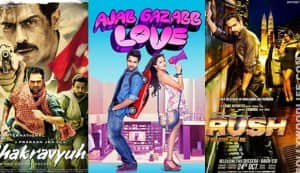 Box office report: Chakravyuh, Rush, Ajab Gazabb Love have a lukewarm weekend at collection centres