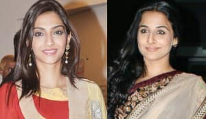 Why is Sonam Kapoor grateful to Vidya Balan?