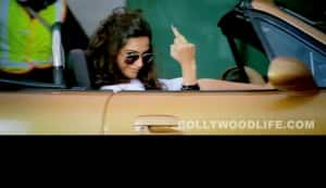 Sonam Kapoor raises a middle finger in 'Players'!