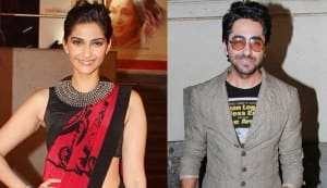 How will Sonam Kapoor help Ayushmann Khurrana look better?