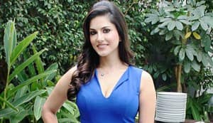 Why is Sunny Leone so excited?
