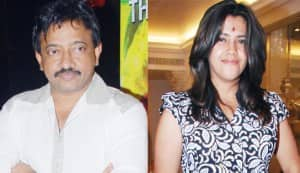 Ramgopal Varma wants to kiss Ekta Kapoor!