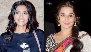 Why is Sonam Kapoor giving Vidya Balan style advice?
