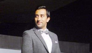 Rahul Khanna keeps it sauve on the ramp for Van Heusen at the Jet Airways Hangar