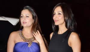 Kareena Kapoor, Karisma Kapoor, Malaika Arora Khan, Amrita Arora spotted at a Mumbai church for Midnight Mass on Christmas
