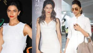 Deepika Padukone's fixation with white!