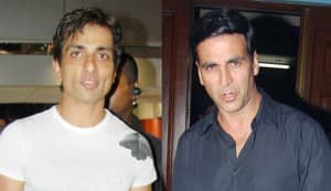 Akshay Kumar and Sonu Sood vie for hit song 'Appdi Podu'