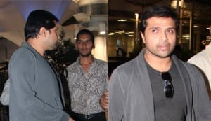 Himesh Reshammiya and his greys
