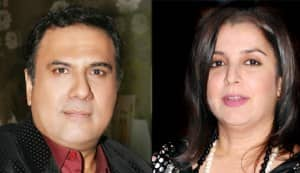 Why did Farah Khan refuse to kiss Boman Irani?