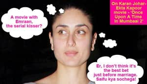 Why did Kareena Kapoor choose Tigmanshu Dhulia over Sanjay Leela Bhansali?