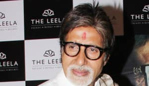 Amitabh Bachchan to journo: Come home!