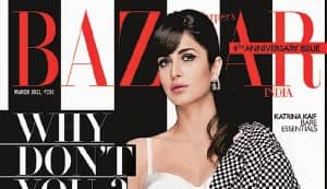Katrina Kaif in Harper's Bazaar: The babe goes bold in a stylish white bustier