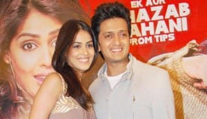 Genelia D'Souza: I am not apprehensive about being paired with Riteish