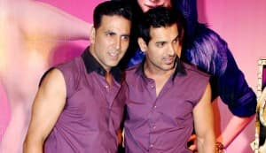 Akshay Kumar: John has improved since 'Garam Masala'