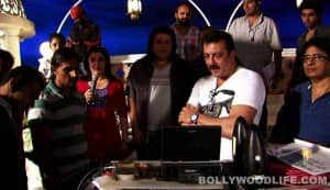 Himmatwala making 3: What was Sanjay Dutt doing on the sets?