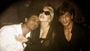 Shahrukh Khan goes gaga over Lady Gaga!