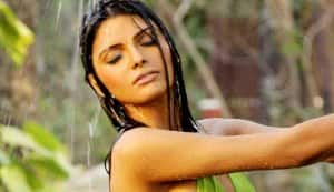 Why was Sherlyn Chopra not invited to the Playboy party?
