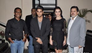 Prateik and Amy Jackson celebrate the success of song 'Hosanna'