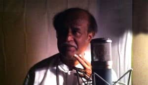 Rajinikanth completes half of Kochadaiyaan dubbing in one day