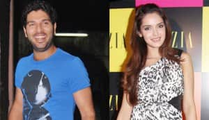 Is Shazahn Padamsee dating cricketer Yuvraj Singh?