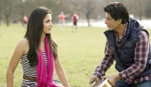 Shahrukh Khan & Katrina Kaif: New pics from Yash Chopra's latest love story!