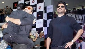 Anil Kapoor hugs it out with John Abraham!