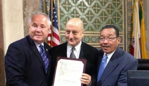 Anupam Kher awarded with City Proclamation in Los Angeles!