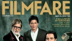 Dilip Kumar, Amitabh Bachchan and Shahrukh Khan on Filmfare cover: Watch making