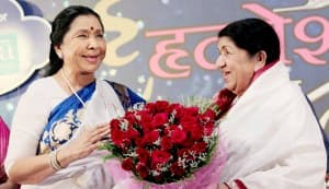 Lata Mangeshkar and Asha Bhosle used to steal batashas on Gudi Padwa!