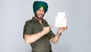 Shahrukh Khan becomes 'Sardar' for a TV commercial